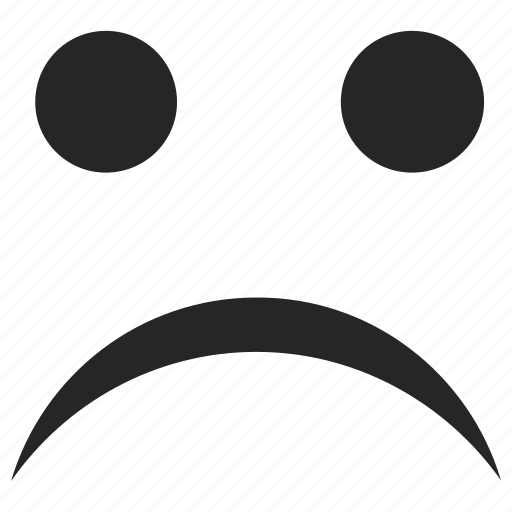 emoticons, face, sad, smiley, upset icon