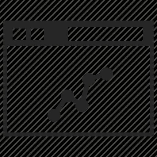application, bar, chart, graph, graphic, progress icon