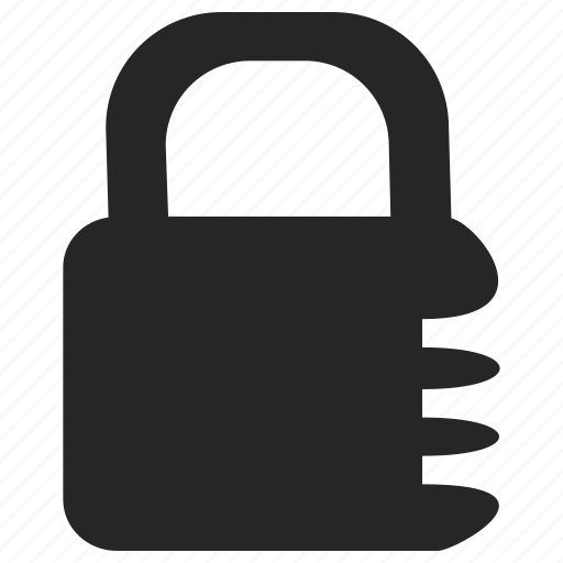 lock, locked, padlock, safe icon