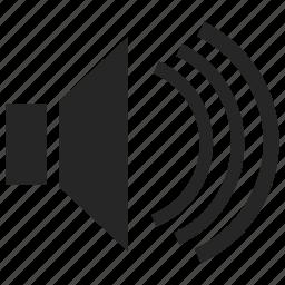 music, sound, speakers, volume icon