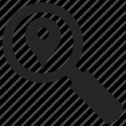 location, place, search, seo icon