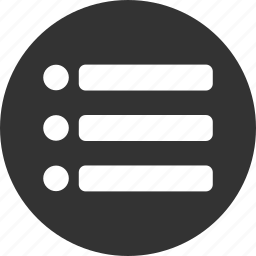 checklist, circle, feed, list, playlist, tasks icon