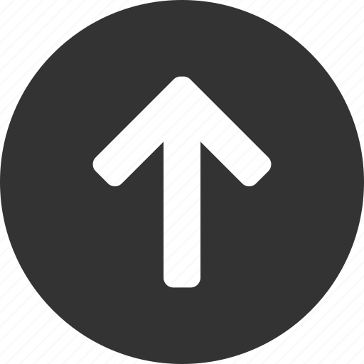 arrow, circle, climb, direction, north icon