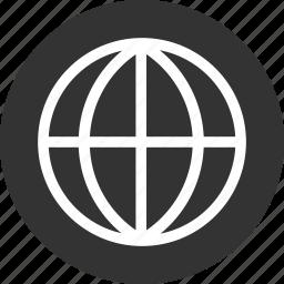 global, globe, international, language icon