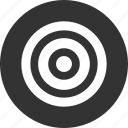 aim, bullseye, efficiency, goal, marketing icon