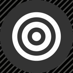 aim, bullseye, efficiency, goal, marketing icon