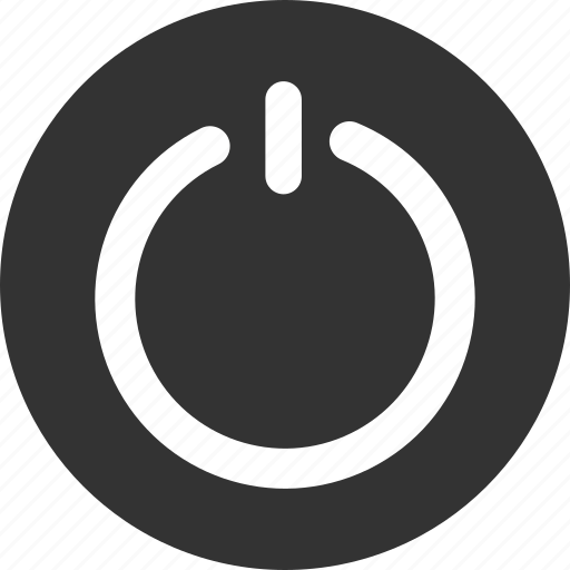 circle, close, exit, off, power icon