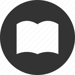book, bookmark, circle, learn, library, read icon