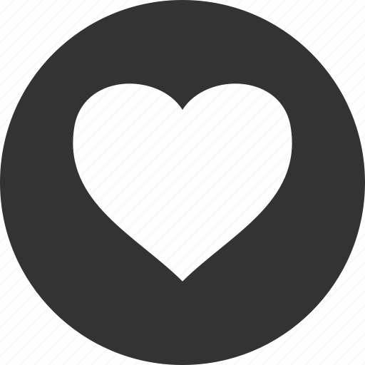 circle, dating, favorite, heart, like, love icon