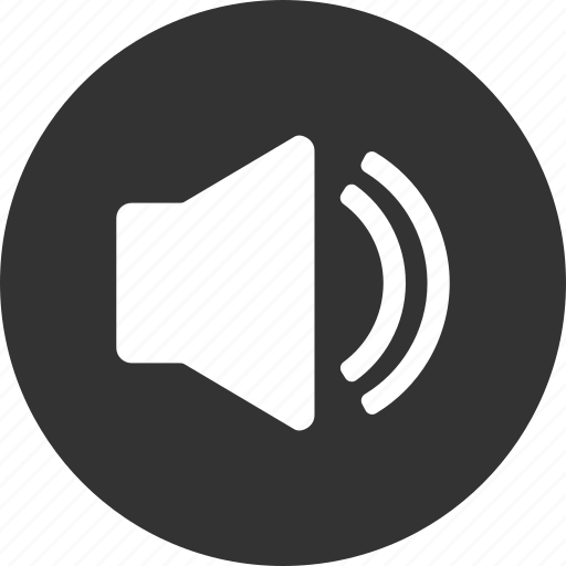 circle, music, sound, sounds, speaker icon