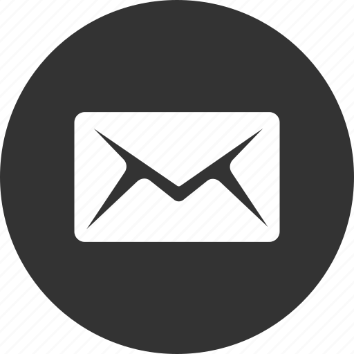 circle, email, letter, mail, message, send icon