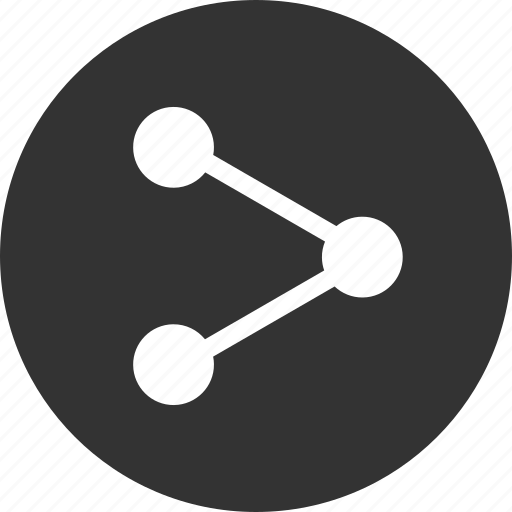 android, circle, network, share, sharing icon