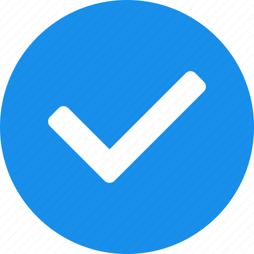 approved, check, checkbox, circle, confirm, right, sure icon