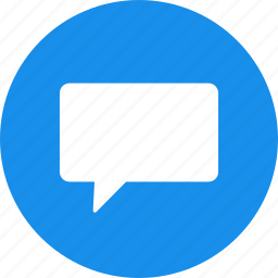 chat, chatting, circle, comment, messages icon