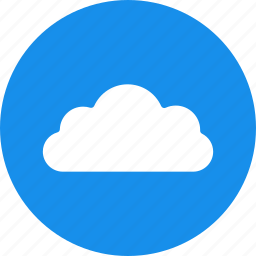 cloud, clouds, sky, storage, weather icon