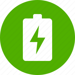 battery, ecological, energy, green, power, rechargeable, renewable icon