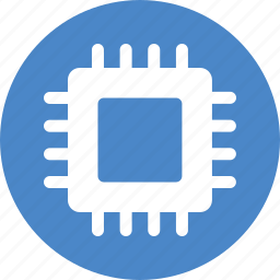 chip, computer, cpu gpu, microchip, processor, semiconductor, semiconductors icon