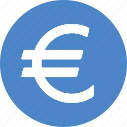 currency, euro, european, foreign, money, sign, union icon