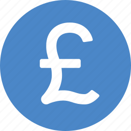 british, circle, currency, money, pound, sign, sterling icon