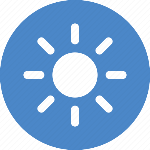 Brightness, circle, energy, solar, sun, sunny, weather icon - Download on Iconfinder