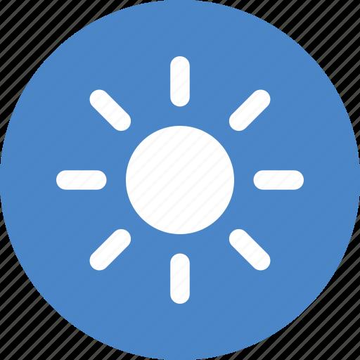 brightness, circle, energy, solar, sun, sunny, weather icon