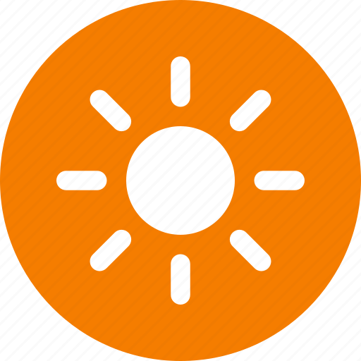 brightness, circle, energy, solar, sun, sunny, weather icon