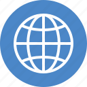 blue, global, globe, international, language, travel, world icon