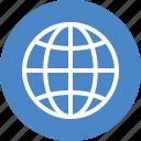 blue, language, travel, global, international, world, globe icon