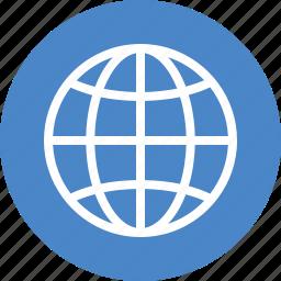 blue, global, globe, international, language, travel, world icon
