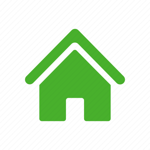 building, estate, home, house, real, yellow icon