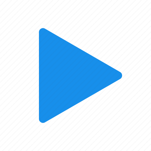 blue, movie, next, play, start, video icon