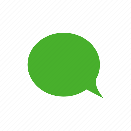 chat, chatting, comment, green, message icon