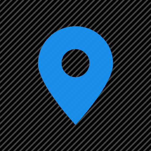 Afbeeldingsresultaat voor icon blue address