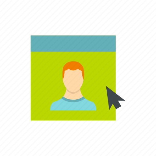 avatar, business, head, male, person, user, website icon