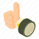 best, good, hand, isometric, object, thumbs, up