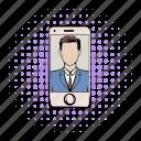 comics, communication, mobile, online, phone, technology, using