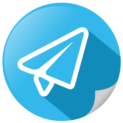 Email, mail, social, telegram icon