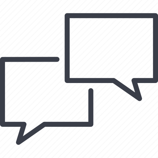 chat, communication, message, social, social network, speech icon