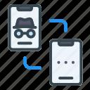 transfer, data, mobile, phone, smartphone