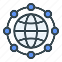 world, connected, server, database, storage