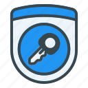 key, protection, password, security, shield, secure