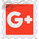 g+, google, gplus, media, postage, social icon