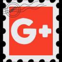 g+, google, gplus, media, postage, social icon