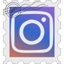instagram, media, postage, social icon