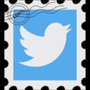 media, postage, social, tw, twitter icon