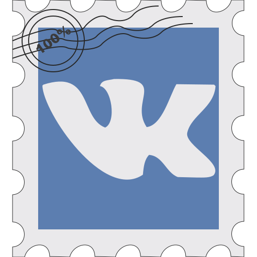 kontakt, media, postage, social, vk, vkontakte icon