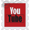 media, postage, social, youtube icon