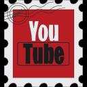 media, postage, social, youtube icon