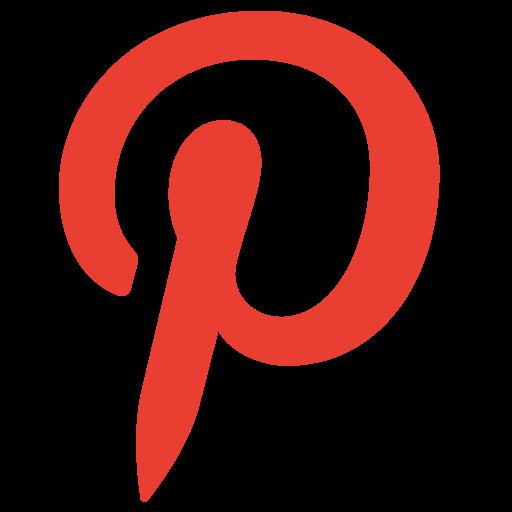 logo, network, pinterest, social icon