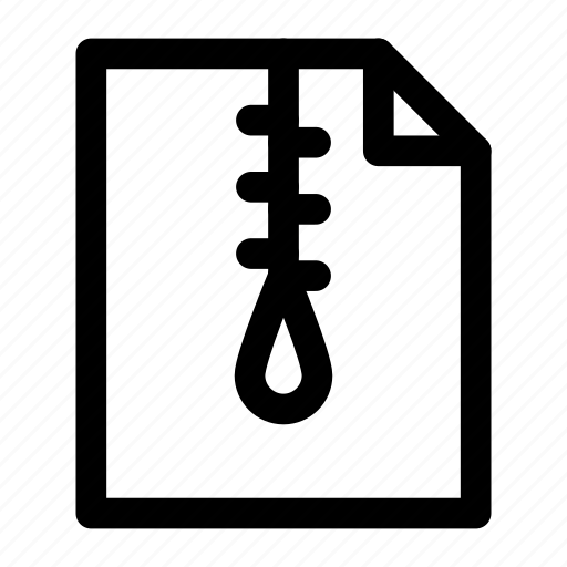 achieve, file, zip icon icon